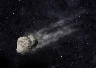 Asteroida - wizja artystyczna