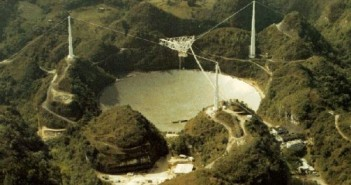 Radioteleskop w Arecibo / Credits - Arecibo observatory