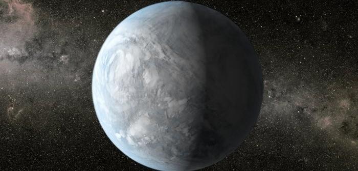 Wizja artystyczna Keplera-62e / Credits - NASA/Ames/JPL-Caltech