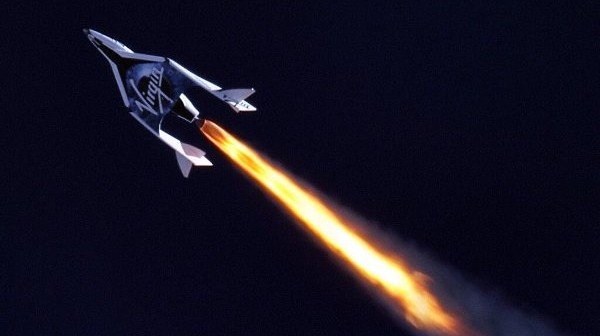 Lot rakietowy SpaceShipTwo / Credits: Virgin Galactic