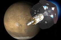 Wizja statku kosmicznego napędzanego silnikami VASIMR / Credits: Ad Astra Co.