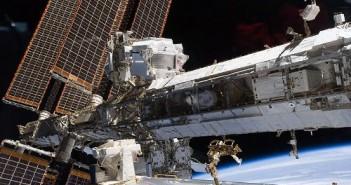 Instrument AMS na pokładzie Międzynarodowej Stacji Kosmicznej / Credits - NASA