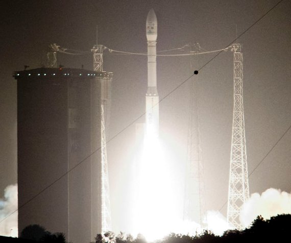 Start rakiety Vega do misji VV02 - 05.07.2013 / Credits - ESA/CNES/Arianespace/Optique Video du CSG