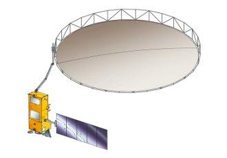 Jedna z wizualizacji misji Biomass / Credits - ESA