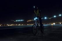 Moment zakończenia pierwszego odcinka przelotu w Phoenix / Credits: Solar Impulse, F. Merz