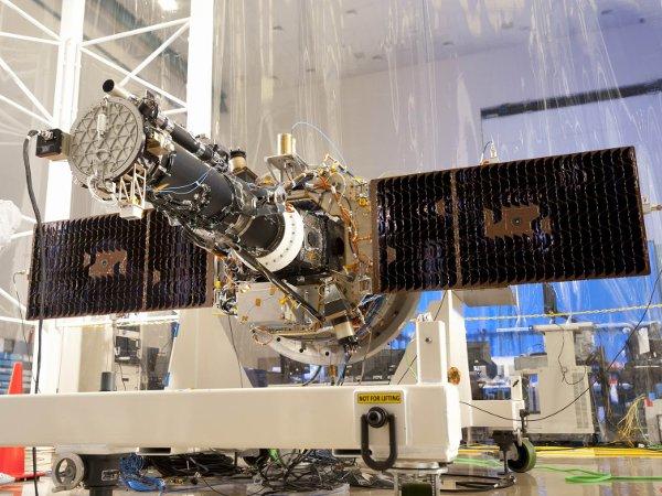 IRIS w trakcie testów / Credits - Lockheed Martin, NASA
