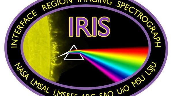 Logo misji IRIS / Credits - NASA