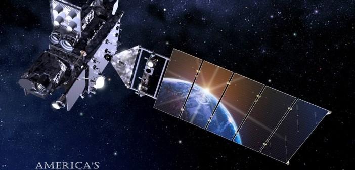 GOES-R na orbicie - wizualizacja / Credits: NOAA-NASA
