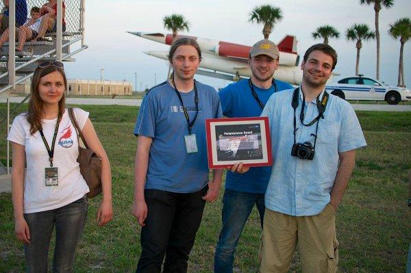 Nagroda za wytrwałość dla zespołu Husar / Credits - zespół Husar