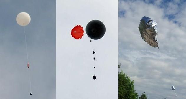 Kwietniowe i majowe misje balonowe / Credits - Mateusz Lubecki, Mariusz Zarzycki i Tomasz Brol