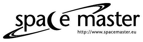 Logo studiów Space Master