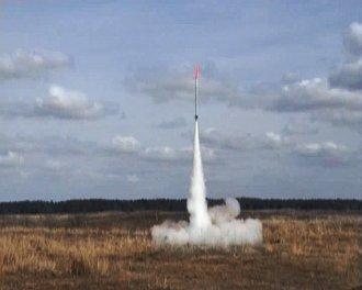 Start rakiety K-1X - 20.04.2013 / Credits - PTR