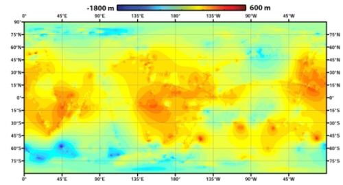 Wykorzystując dane z sondy Cassini naukowcy opracowali topograficzną mapę Tytana – narzędzie 3D dla planetologów i klimatologów badających dynamiczne procesy zachodzące na powierzchni księżyca. Credit: NASA/JPL-Caltech/ASI/JHUAPL/Cornell/Weizmann