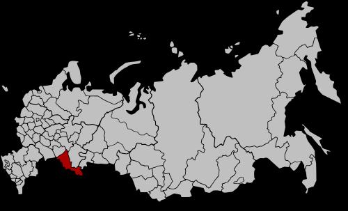 Okręg Orenburg na mapie Rosji / Credits: Ezhiki, CC-A-SA-3.0 unported