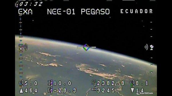 Jeden z obrazów przesłanych z NEE-01 Pegaso / Credits - EXA