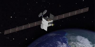ViaSat-2 - wizualizacja przybliżonego wyglądu / Credits: Boeing