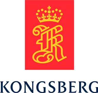 Logo firmy Kongsberg / Credits: Kongsberg