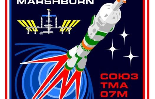 Oficjalny patch Sojuza TMA-07M
