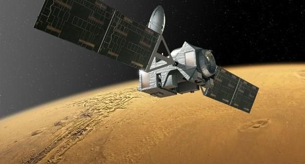 Trace Gas Orbiter - wizualizacja / Credits: ESA