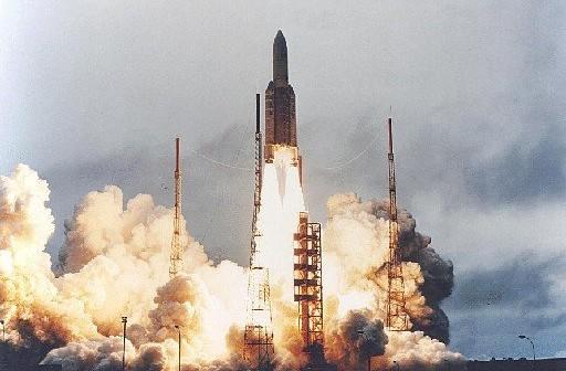 Start Ariane 5 / Credits- Arianespace