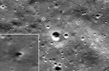 Zdjęcie wykonane przez sondę LRO / Credits: NASA