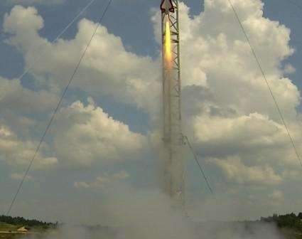 Start rakiety Amelia 2 / Credits: SKS