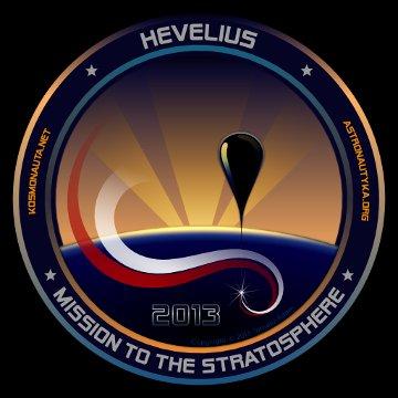 Logo misji Hevelius na 2013 rok / Credits - Tomasz Adam