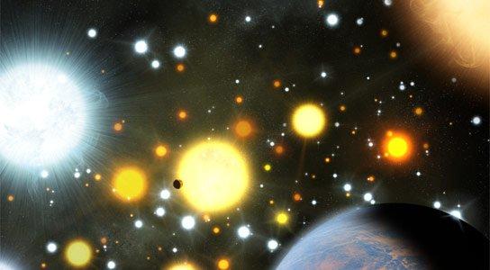Wizualizacja Kepler-66b / Credits - Michael Bachofner / Harvard-Smithsonian Center for Astrophysics /