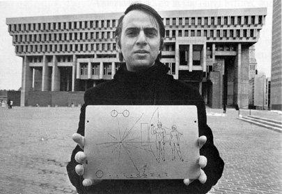 Carl Sagan / Credits - NASA, TPS
