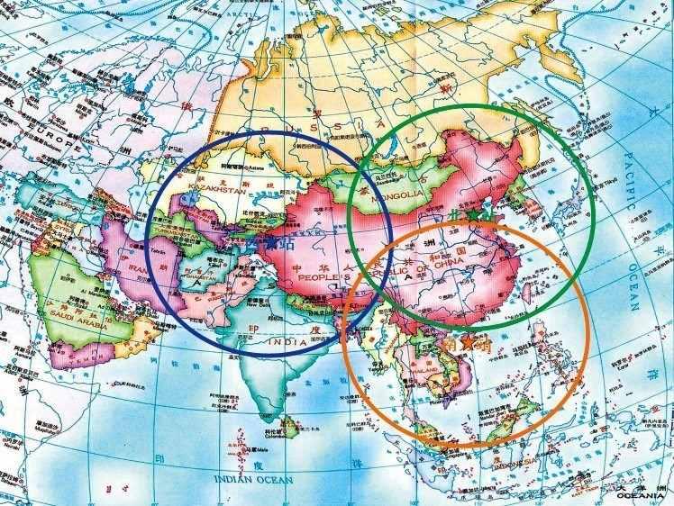 Rozmieszczenie chińskich stacji naziemnych dla satelitów teledetekcyjnych / Credits: China Science Academy