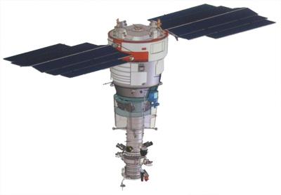 Satelita resurs-p1 / Credits CSKB