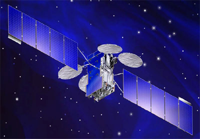 JCSAT-13 produkcji Lockheeda Martina / Credits: Lockheed Martin