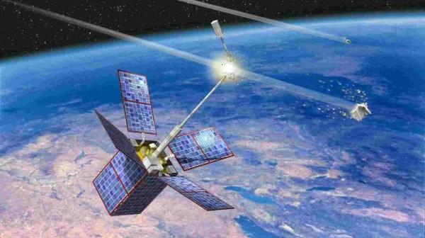 Uszkodzenie satelity Cerise / Credits - CNES