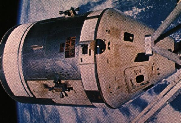 Kapsuła Apollo do misji SL-2 / Credits - NASA
