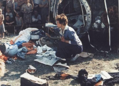 Walentina Tierieszkowa po wylądowaniu.