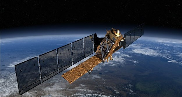 Satelita Sentinel-1, element GMES Copernicus / Credits - ESA