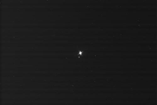 Ziemia i Księżyc okiem sondy Cassini - zdjęcie z 19 lipca 2013 / Credits - NASA/JPL/Space Science Institute
