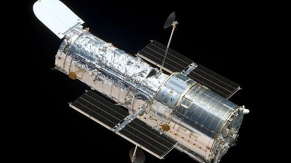 Zdjęcie teleskopu Hubble, wykonane podczas misji STS-125 w maju 2009 roku / Credits - NASA