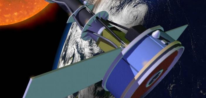IRIS na orbicie - wizualizacja / Credits: NASA