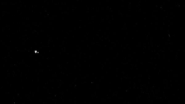 Ziemia i Księżyc z perspektywy orbity Merkurego / Credits - NASA / JHUAPL / CIW