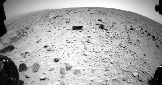 Zdjęcie wykonane tuż po przekroczeniu pierwszego kilometra jazdy / Credits - NAS, JPL-Caltech