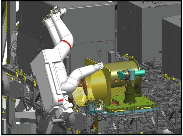 Instalacja OPALS na ISS / Credits - NASA, JPL