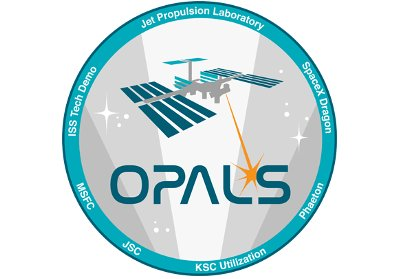 Logo eksperymentu OPALS / Credits - NASA, JPL