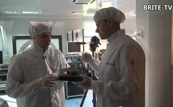 Kadr z 31. odcinka BRITE-TV / Credits - MStolarski