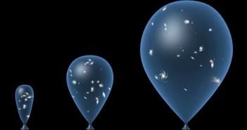 Aktualnie najpopularniejszy model ewolucji Wszechświata - rozszerzanie od Wielkiego Wybuchu / Credits - TAKE 27 LTD/SPL
