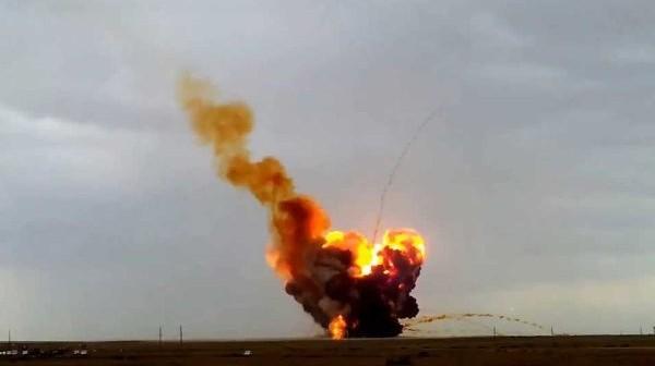 Upadek i eksplozja rakiety Proton-M, 2 lipca 2013 / Credits: Russia Today