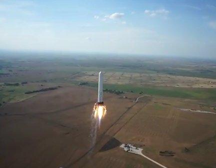 Test Grasshoppera z 14 czerwca 2013 / Credits - SpaceX