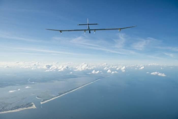 Przelot samolotu Solar Impulse do Nowego Jorku / Credits: SI