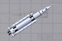Rakieta SLS, rozwijana przez NASA
