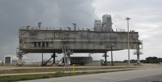 Jedna z trzech platform do zagospodarowania / Credits: NASA